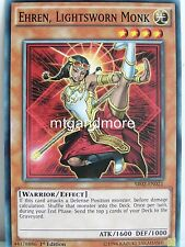 Yu-Gi-Oh - 2x Ehren, Lightsworn Monk - SR02 - Structure Deck Rise of the True