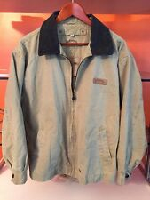 Vintage CAMEL lecoqsportif Collection Trophy Hunting Canvas Coat Jacket XL