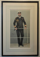 Vanity Fair SPY Print Signed by Admiral of the Fleet Prince Louis of Battenberg
