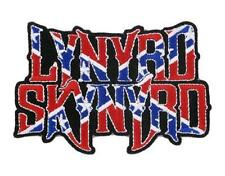 OFFICIAL LICENSED - LYNYRD SKYNYRD - FLAG EMBROIDERED SEW/IRON ON PATCH ROCK