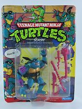 SLASH action figure TMNT Teenage Mutant Ninja Turtles 1990 Playmates evil MOC ht