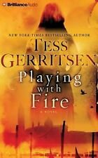 Playing with Fire : A Novel by Tess Gerritsen (2016, CD, Abridged)