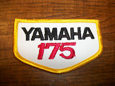 Yamaha 175 patch Vintage Embroidered 1970s NOS DT175 CT175  MX175 MX