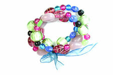 ELEGANT CHUNKY MULTI LAYER COLORFUL BRACELET UNIQUE (ST50)