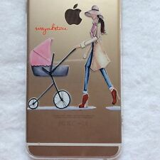 FASHIONISTA IPHONE 6/6S PLUS TRANSPARENT CASE COVER - Cool Mom