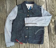 NWT Organic Raw by G Star denim jacket size Small retails $205 Unisex, Juniors