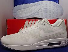 Nike Air Max 1 HTM Tinker Hatfield QS iD White Clear SZ 10.5 ( 874605-991 )