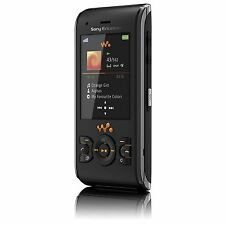 Sony Ericsson W595 Black Mobile Phone