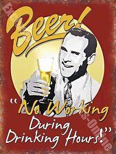 Vintage Boisson,86 Bière No travail,Drôle,Vieux Pub Bar Ale,Nouveauté