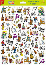 A4 Sticker Sheet Commical Music- Scrapbooking & Cardmaking over 50 image