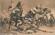 AK Wohlfahrts-Karte Der Grosse Krieg 1914/15  Gefecht der Türken... (i461)