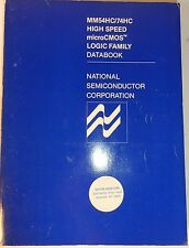 1983 National Semiconductor High Speed microCMOS Logic Book