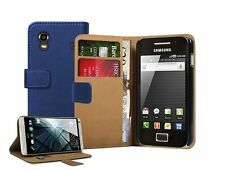WALLET Leather Flip Case Phone Cover for Samsung Galaxy Ace GT-S5830 / GT-S5830i