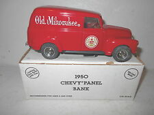 Ertl 1950 Chevy Panel Bank - Old Milwaukee - Made in the U.S.A.