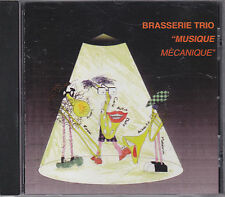 BRASSERIE TRIO - musique mechanique CD