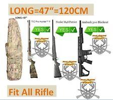 """47"""" Gun Rifle Bag Shotgun Soft Gun Storage Pack Case Carrier Padded Hunting Bag"""