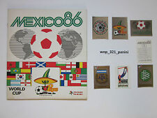 WM 1986, 10 Sticker stickers Panini World Cup 86 Mexico Mexiko