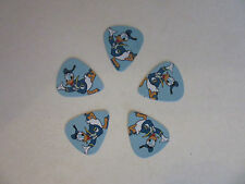 DISNEY DONALD DUCK PLECTRUMS / PICKS 0.71MM X 5 BLUE