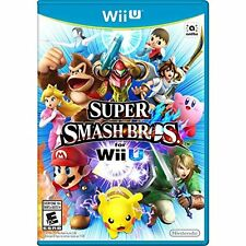 Super Smash Bros For Wii U Fighting Game Only 2E