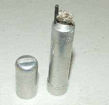 Vintage WWII Era Army Military Aluminum Bullet Trench Cigarette Lighter