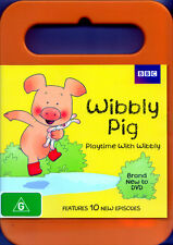 Wibbly Pig: Playtime with Wibbly * NEW DVD *