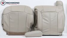2002 Cadillac Escalade -Driver Side Complete Replacement Leather Seat Covers TAN