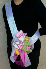Stork Baby Shower MOM TO BE SASH,Pink/Girl, Ribbon favors , Party, Mother, Gift