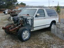PRICE CUT  4x4   1984 s-10   Blazer V8 conversion   ALL the FRONT CLIP INCLUDED
