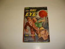 1950 The Big Eye by Max Ehrlich, Popular Library, PB, Science Fiction, Sci-fi