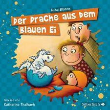 KATHARINA THALBACH - NINA BLAZON: DER DRACHE AUS DEM BLAUEN EI  2 CD NEU