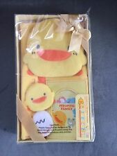 NEW Piyo Piyo Growth Chart Photo Frame Yellow 3x5 Plush Yellow Pictures Plush