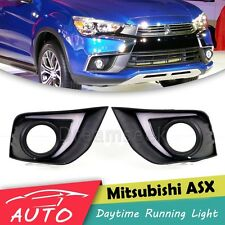 DRL LED DAYTIME RUNNING LIGHT FOG LAMP FOR MITSUBISHI ASX OUTLANDER SPORT 2016