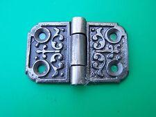 Victorian Hinge, Iron Hinge, Antique Style Cabinet Hinge, Forge Iron Hinge