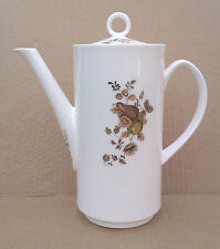 ROYAL WORCESTER GOLDEN HARVEST PATTERNED COFFEE POT.