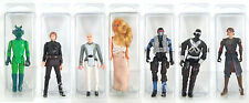 STAR WARS BLISTER CASE LOT OF 10 Action Figure Protective Clamshell Cases SMALL