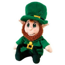 "8"" Lucky Leprechaun plush by Fiesta Toys, NEW w/ Tags!!"