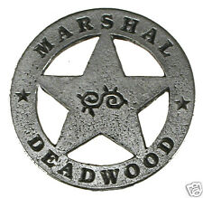 1 in HAT PIN DEADWOOD MARSHAL OLD WEST PIN BADGE 20 MADE IN USA