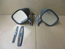 FIAT 124  MANUAL MIRROR BOLT ON SET OF 2 OE