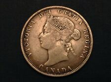 - Canada 1871 25 Cents Victoria - sale priced!