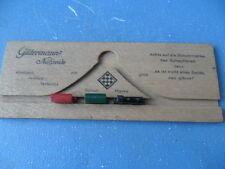 ALT Gütermann nähseide Pubblicità Ferrovia Pazienza gioco raro protezione marchio ca: 1930