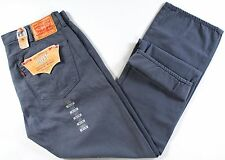 Levi's 501 SELVEDGE jeans-38 x32-NEW-brushed SLATE denim-$148-RARE-505/514