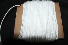 10 Metres White Nylon Braided Cord Thread Twine  2mm  ..[