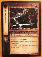Lord of the Rings CCG Fellowship 1C180 Goblin Scimitar X2 LOTR TCG