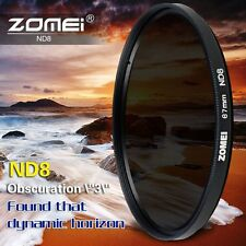 ZOMEI 77mm Neutral Density Filter ND8 ND for Canon Nikon camera