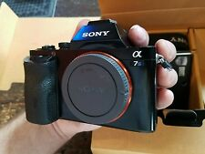 Sony a7s ilce-7s 35mm Full Frame Camera - needs LCD