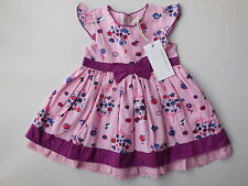 NEW Pumpkin Patch baby girl pink dress size 000 Fits 0-3 mths *Gift Idea*