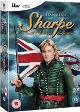 ❏ Sharpe Classic Collection Complete Series Seasons DVD 15 ❏ ITV Sean Bean