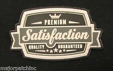 SATISFACTION 3D PVC TACTICAL US MILITARY BADGE USA ARMY MORALE SWAT VELCRO PATCH