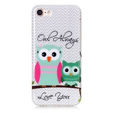Protective TPU IMD Gel Case for iPhone 7 4.7 Inch - Owl Always Love You