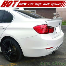 New ABS MW F30 F80 M3 3-Series Rear Performance High Kick Trunk Spoiler Wing 16